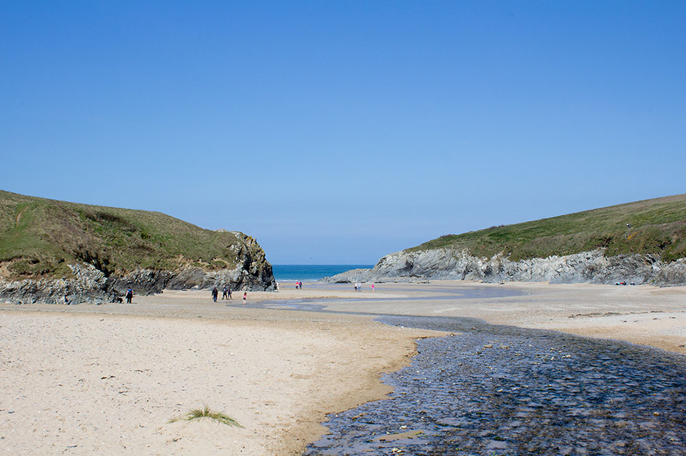 Polly Joke Beach Cornwall