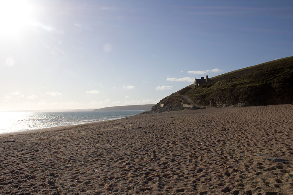 Loe Bar Cornwall